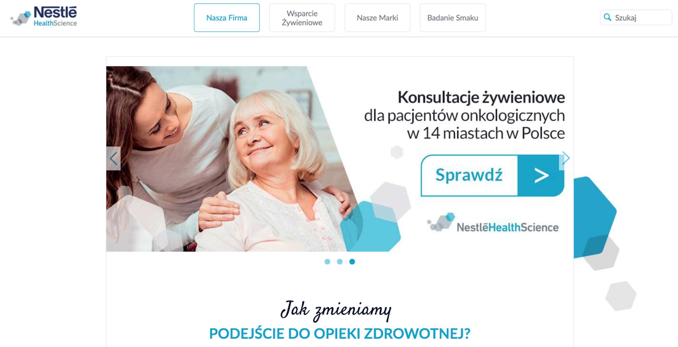 Nestlé Health Science – Iwona Winiarska